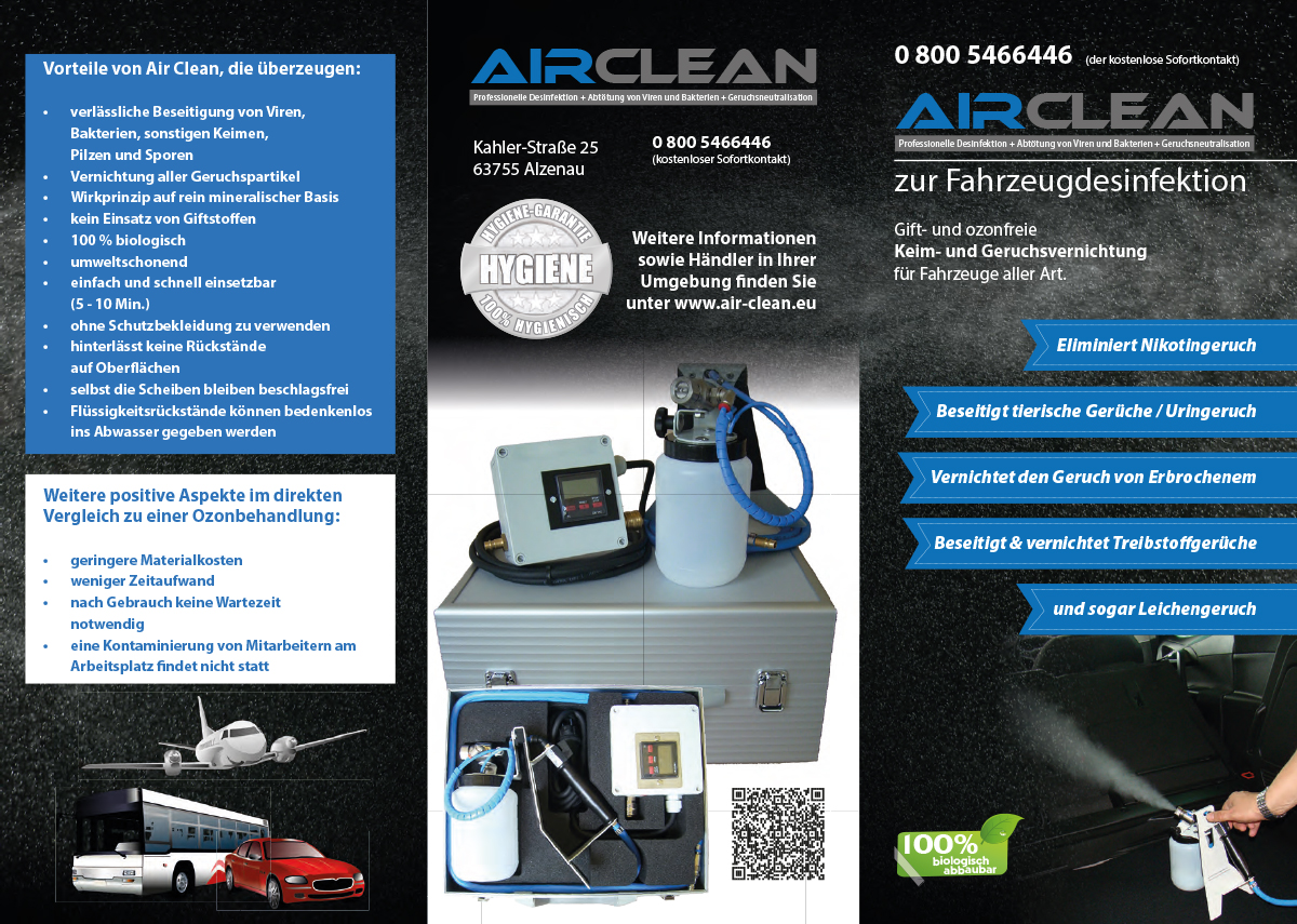 Air Clean Flyer