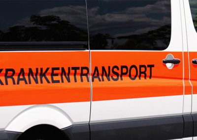 Pflegetransporte