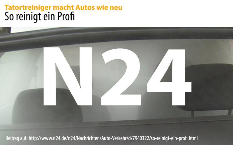 Air Clean bei N24: So reinigt ein Profi